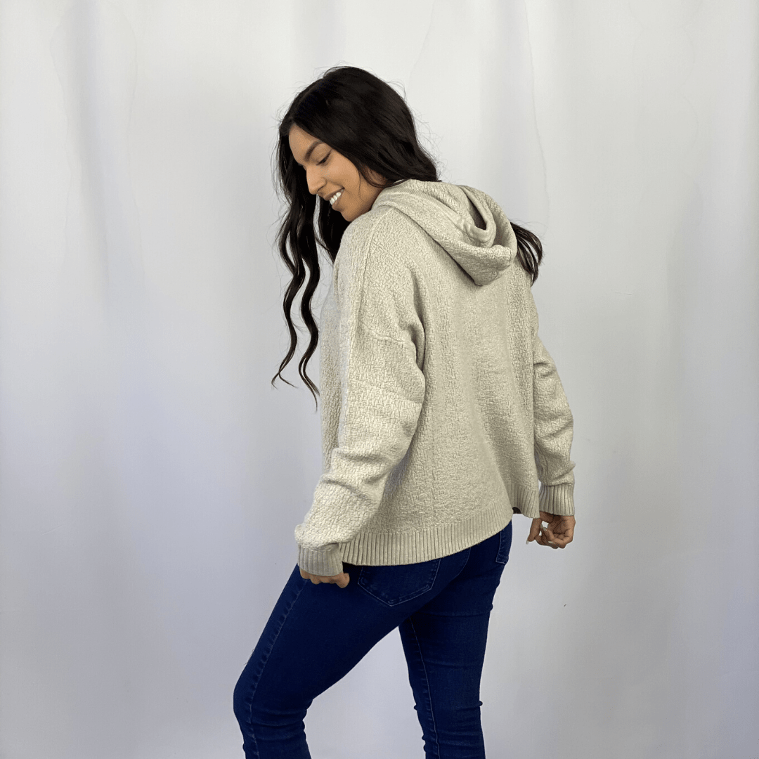 Stone Hooded Pullover
