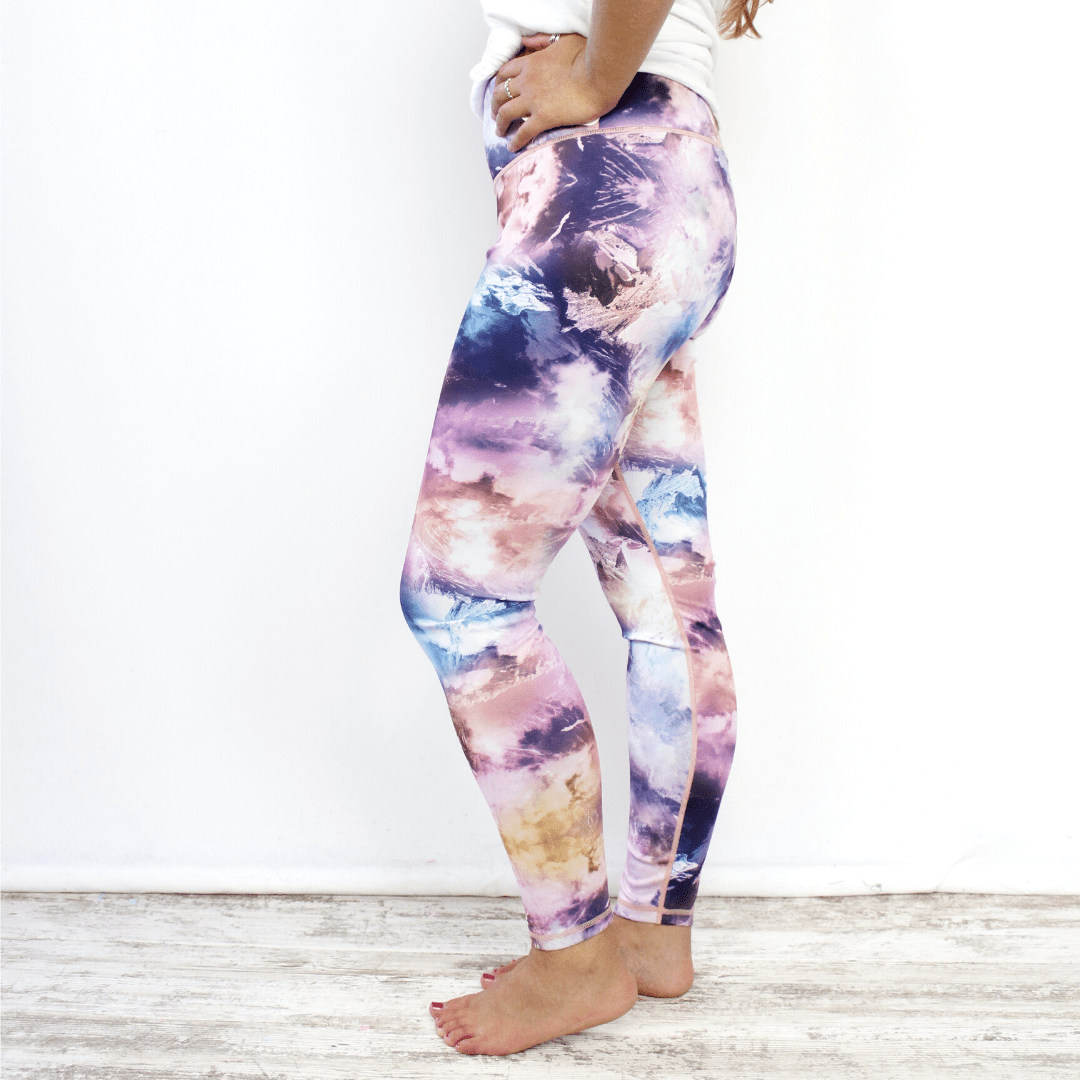 Active Multi Tiedye Legging