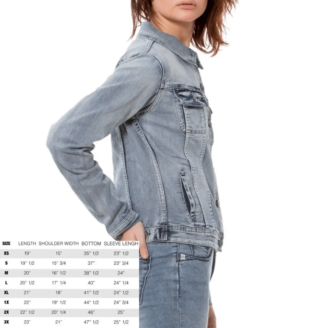 Gabriella Light Denim Jacket