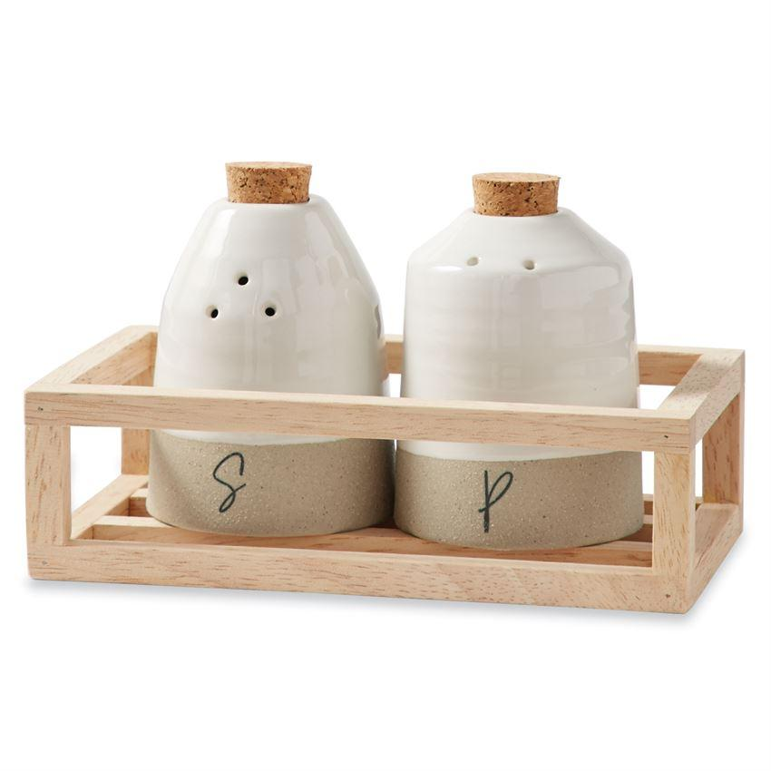 Salt & Pepper Shaker Crate Caddy