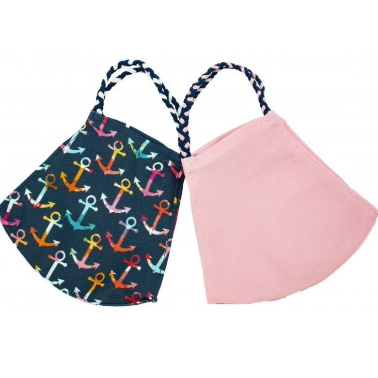 Anchors Pom Face Covering 2 Pack