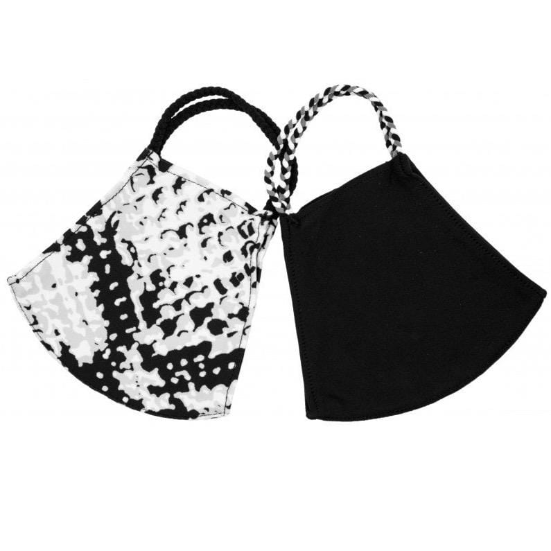 Snakeskin Pom Face Covering 2 Pack