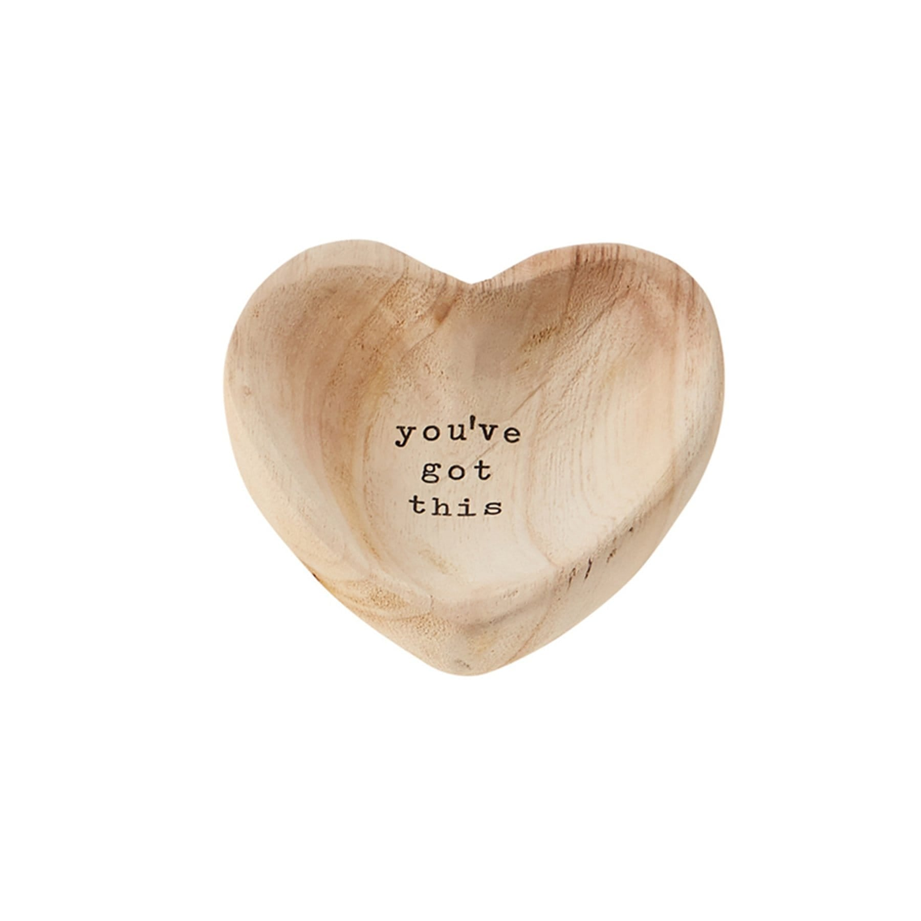 Got This Wood Heart Trinket