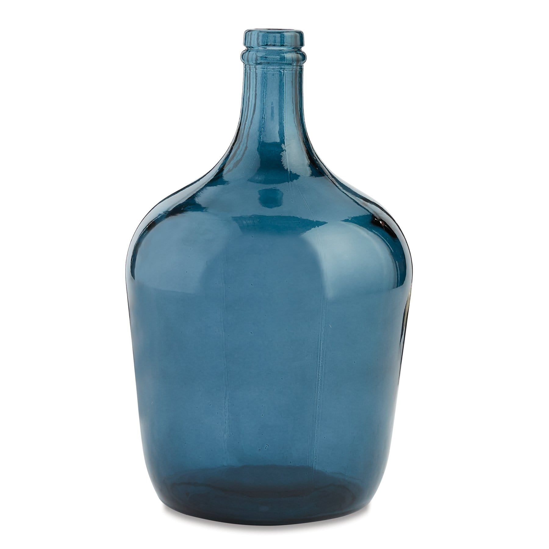Dark Blue Carafe Bottle