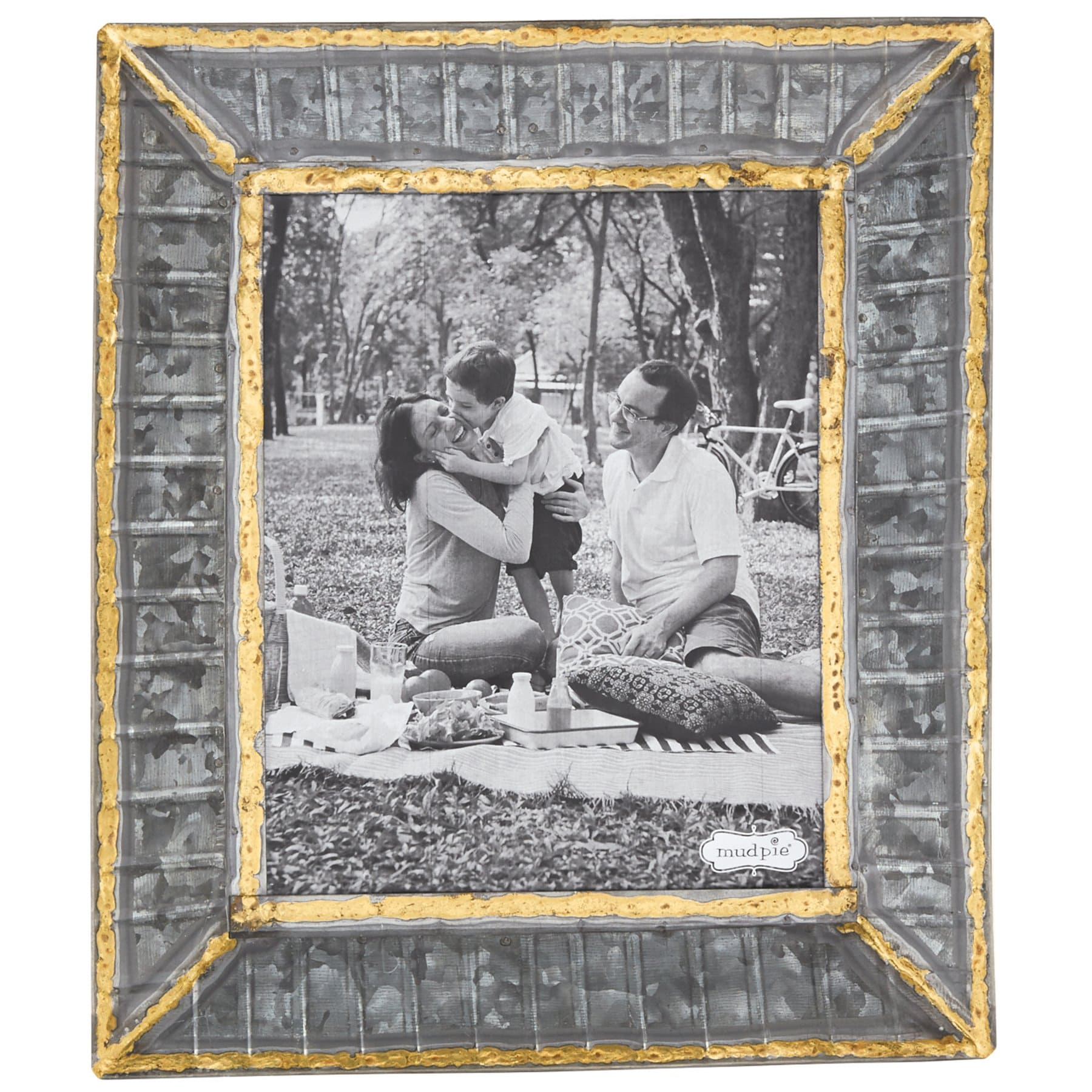 8x10 Tin Ribbed Frame