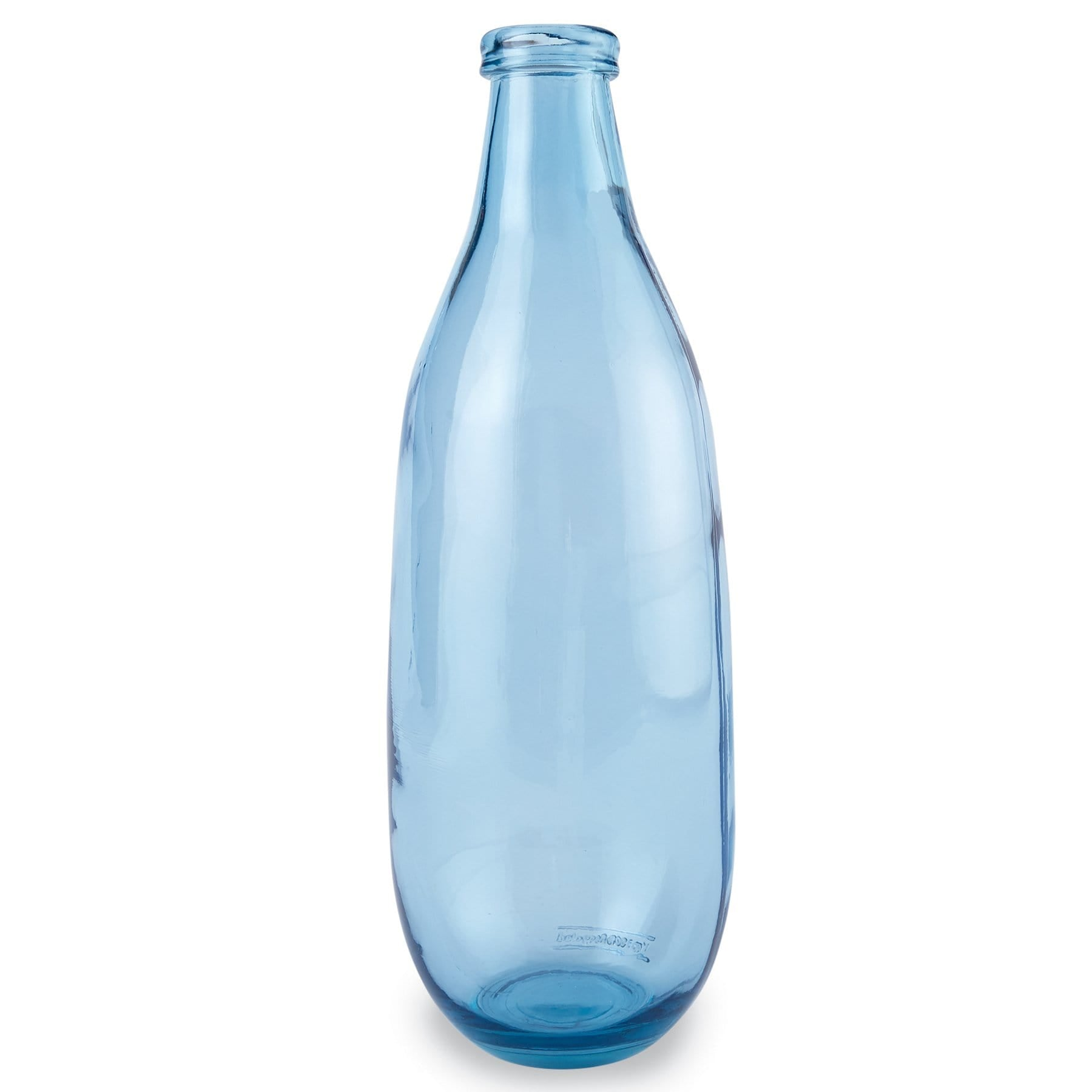 Tall Slim Light Blue Vase