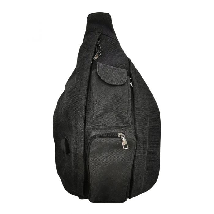 Charcoal Large Anti Theft Rucksack