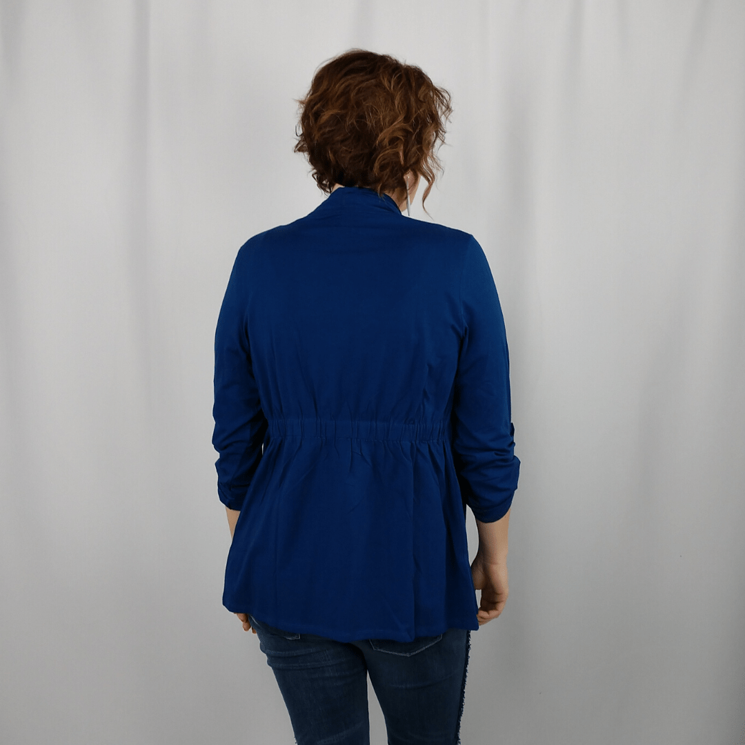 Navy 2 in 1 Knit Jacket
