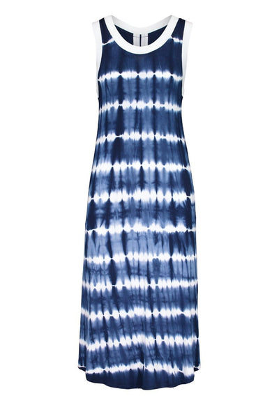 Indigo Sleeveless Dress