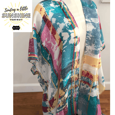 Sunshine Package: Watercolor Kimono Set