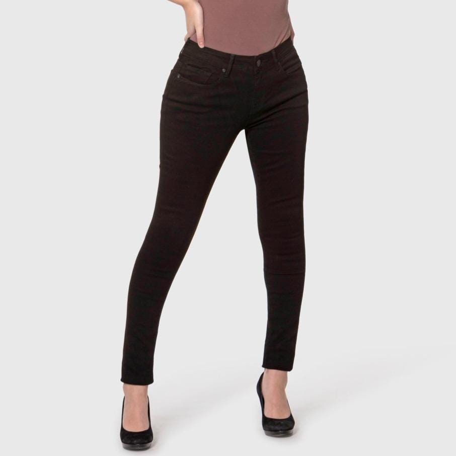 Alexa Black High Rise Skinny