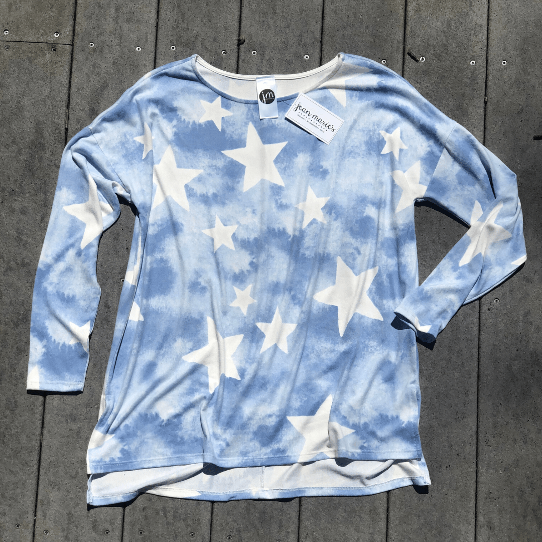 Denim Star Hacci Top