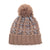 Taupe Ombre Pom Beanie