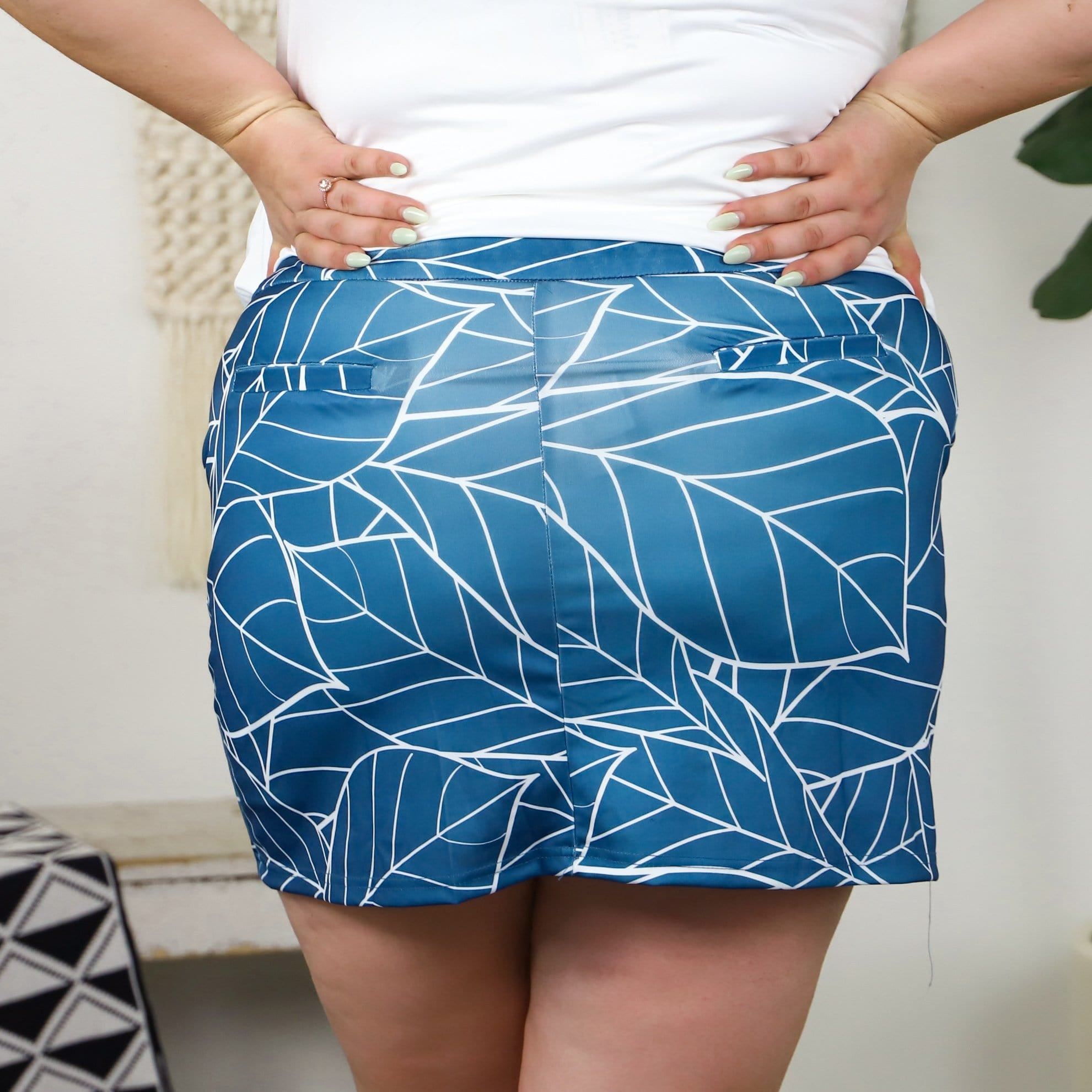 Botanical Leaves Skort