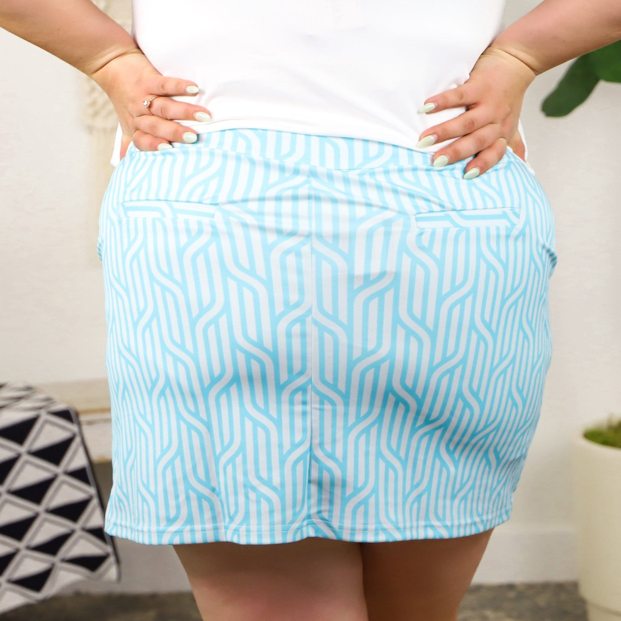 Nautical Braid Skort