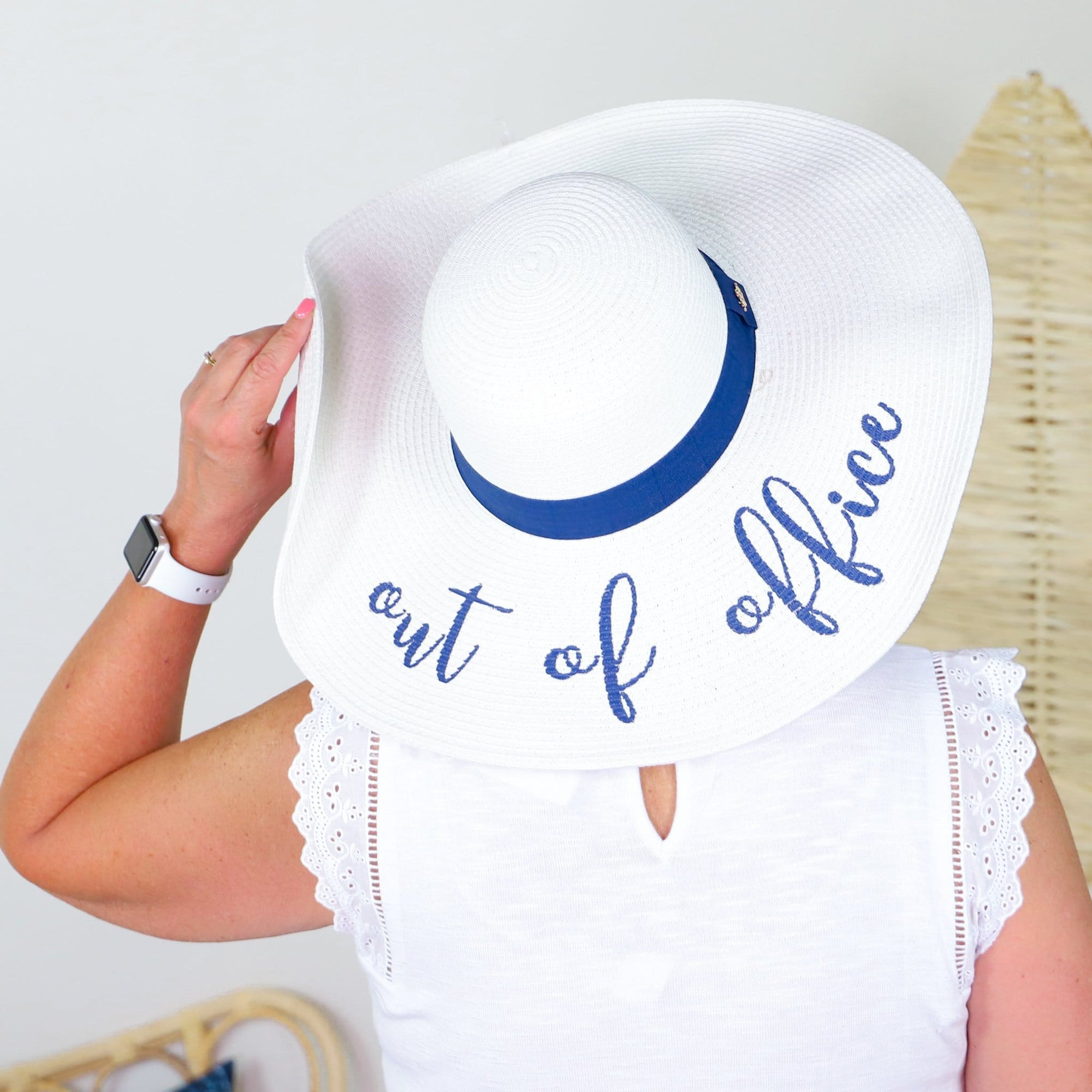Out of Office White Sun Hat