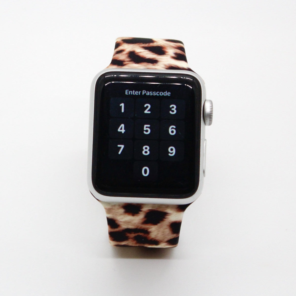 Leopard Silicone Watch Band