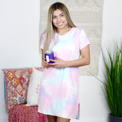 Tie Dye Sleep Dress