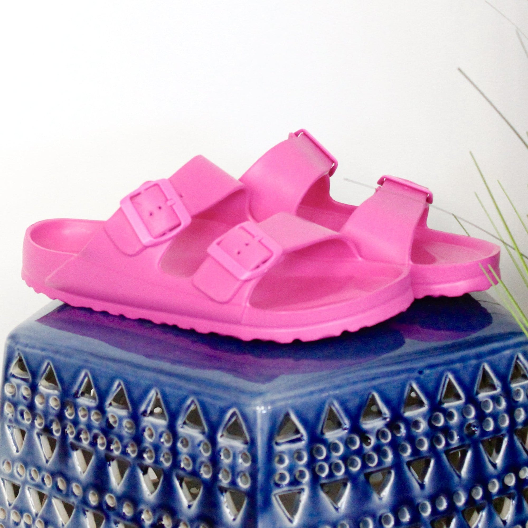 Pink Waterslide Slip On Sandal