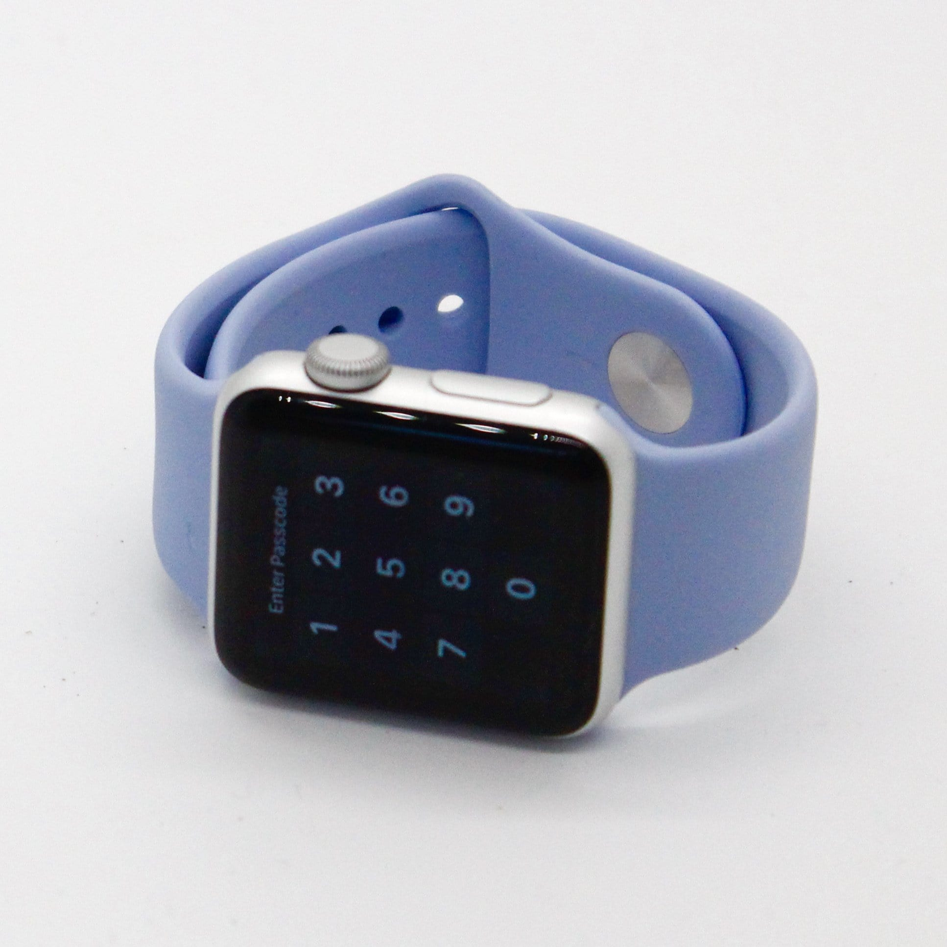 Baby Blue Silicone Watch Band