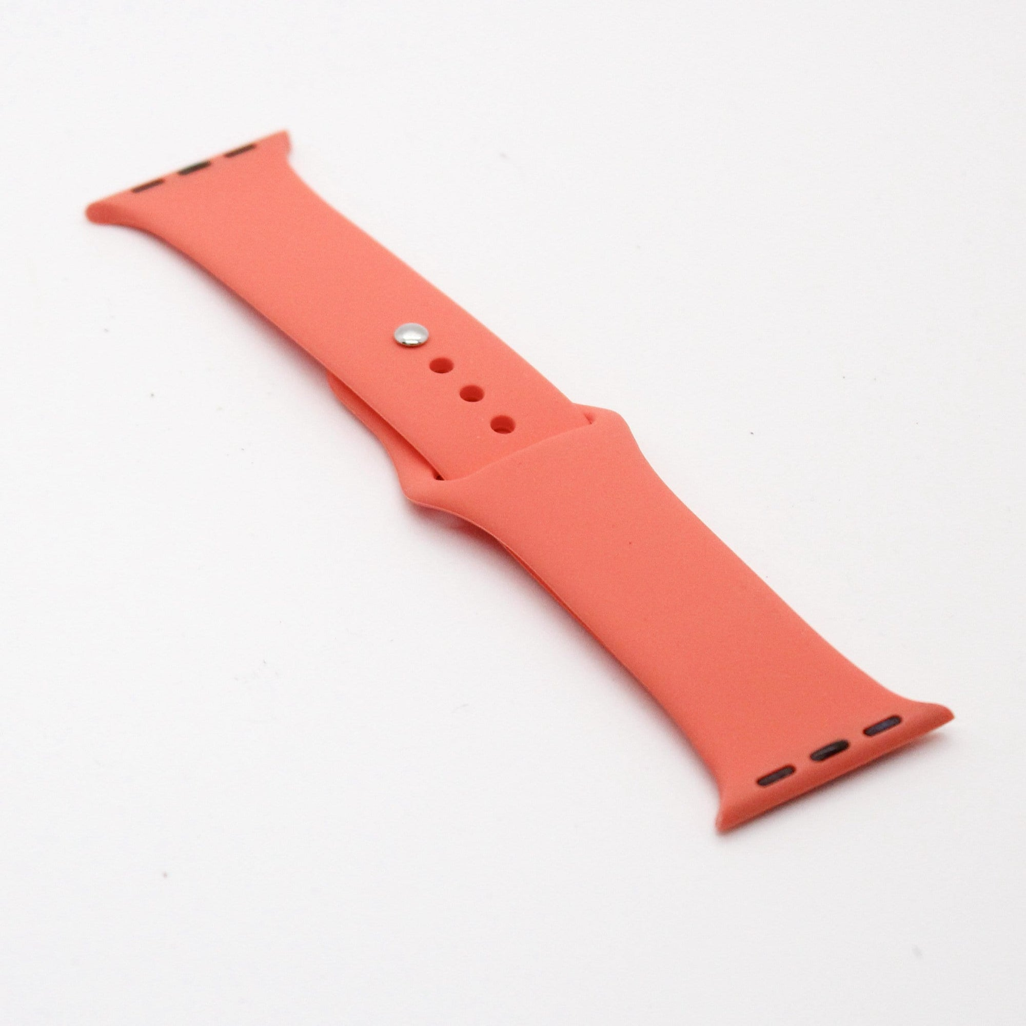 Coral Silicone Watch Band