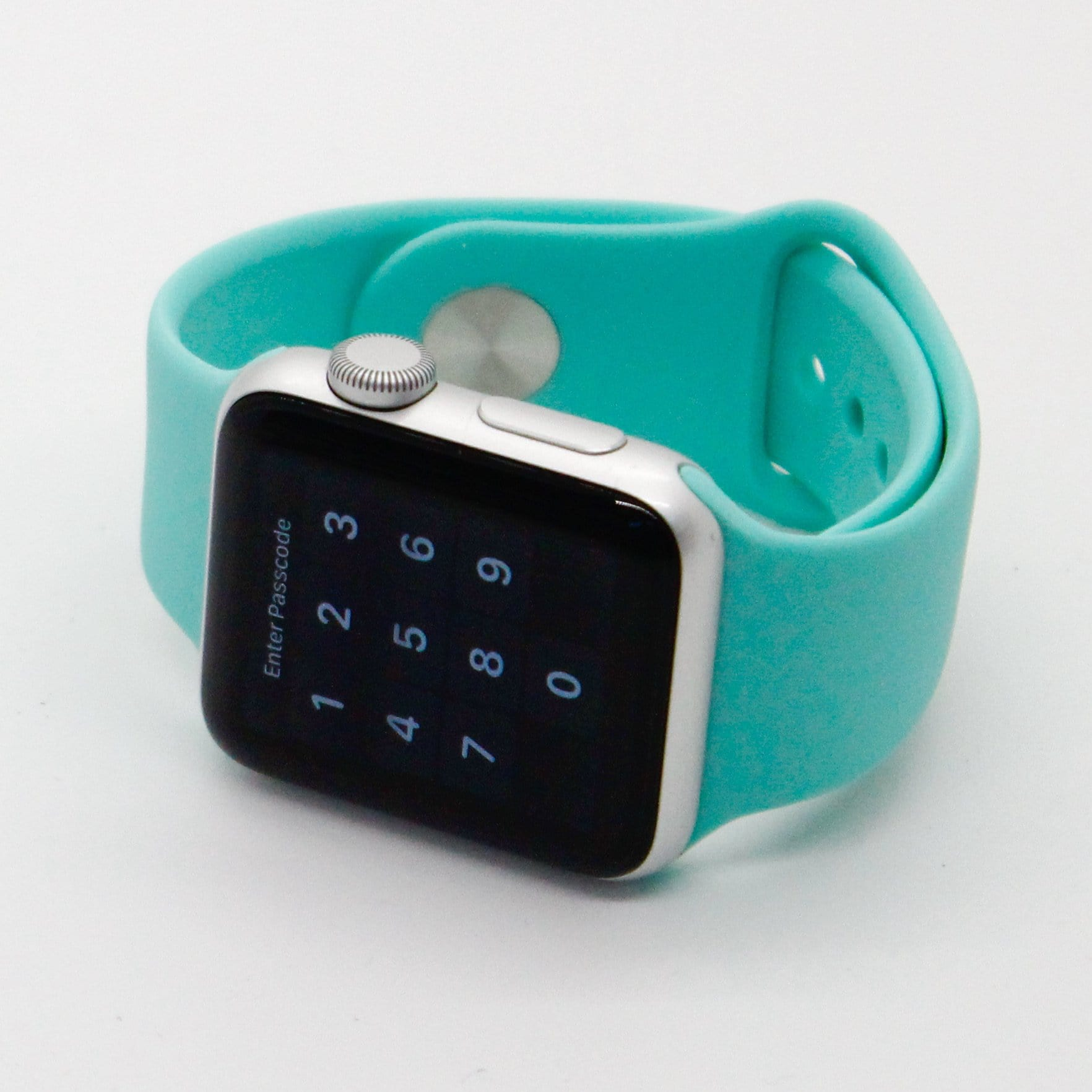 Teal Silicone Watch Band