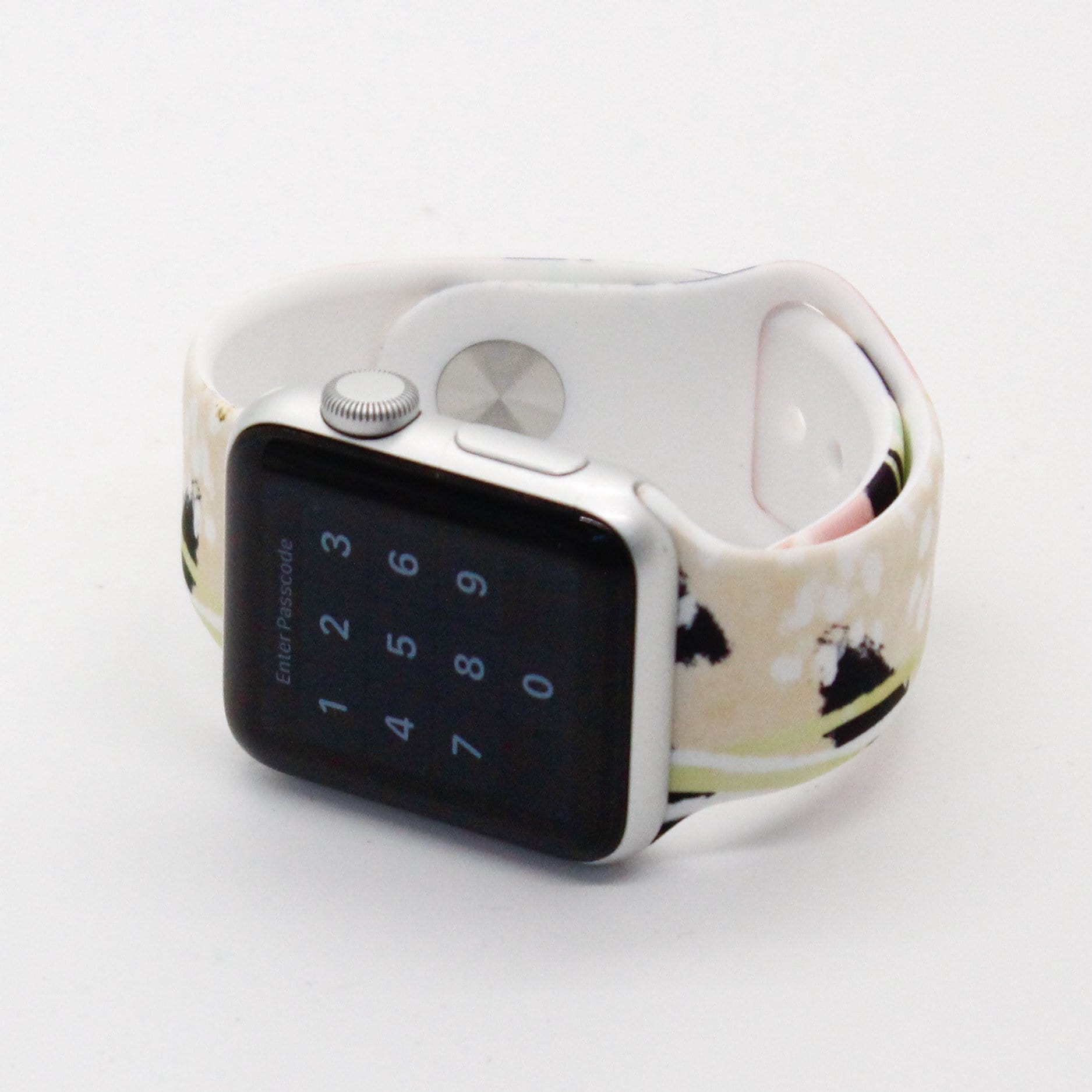 Abstract Silicone Watch Band