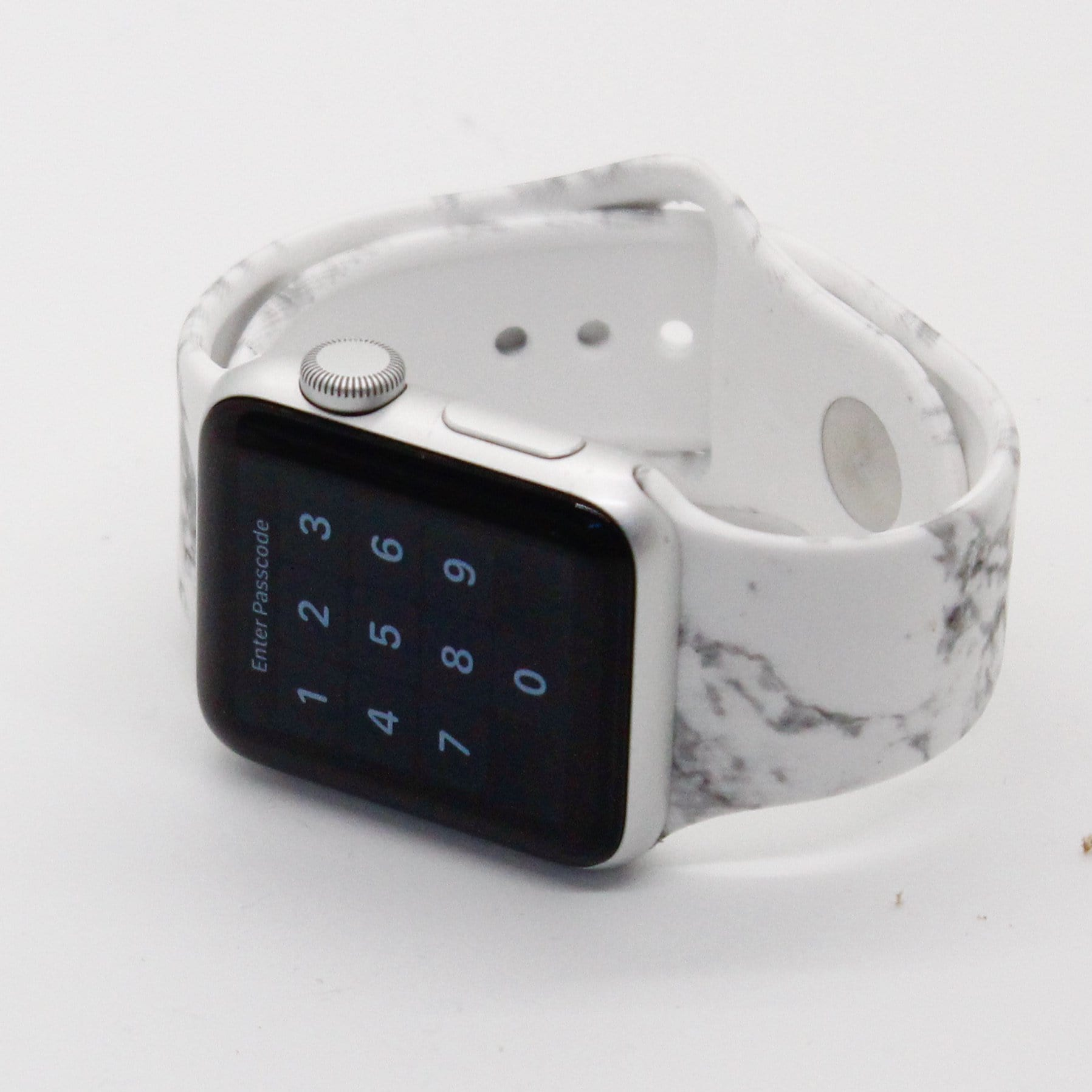 Marble Silicone Watch Band