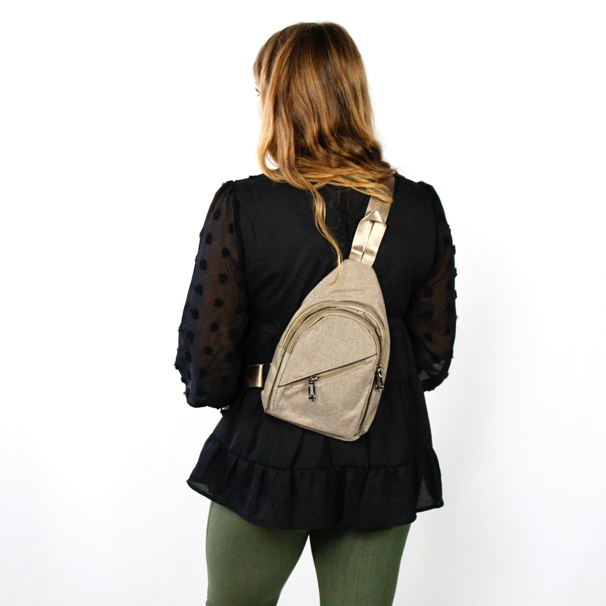 Crossbody Sling Backpack