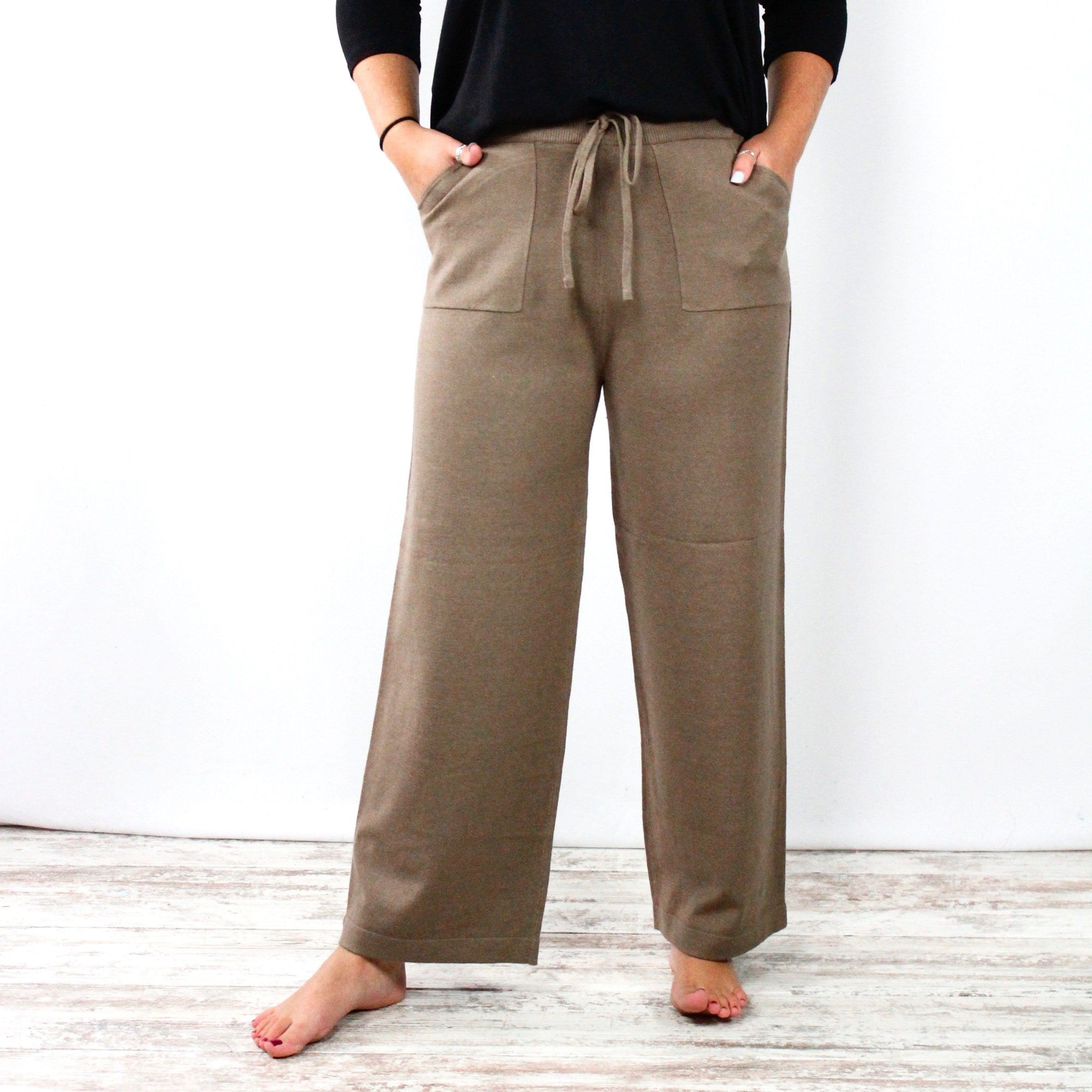 Sweater Pocket Pants
