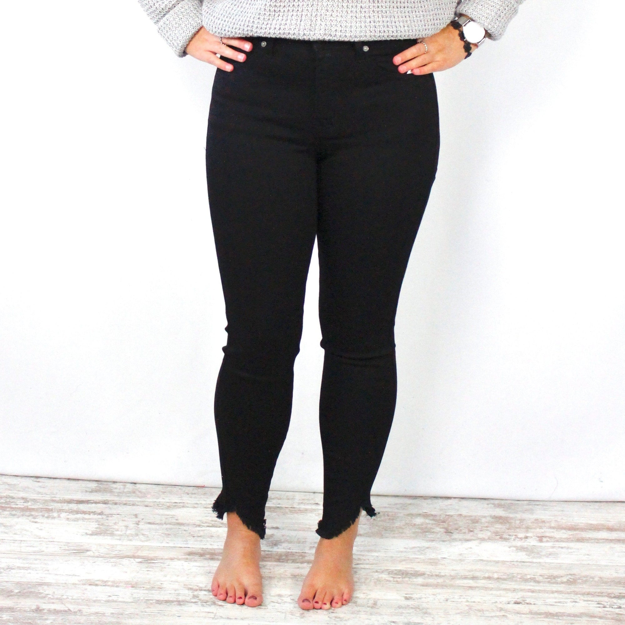 Dayana Black High Rise Skinny Jean