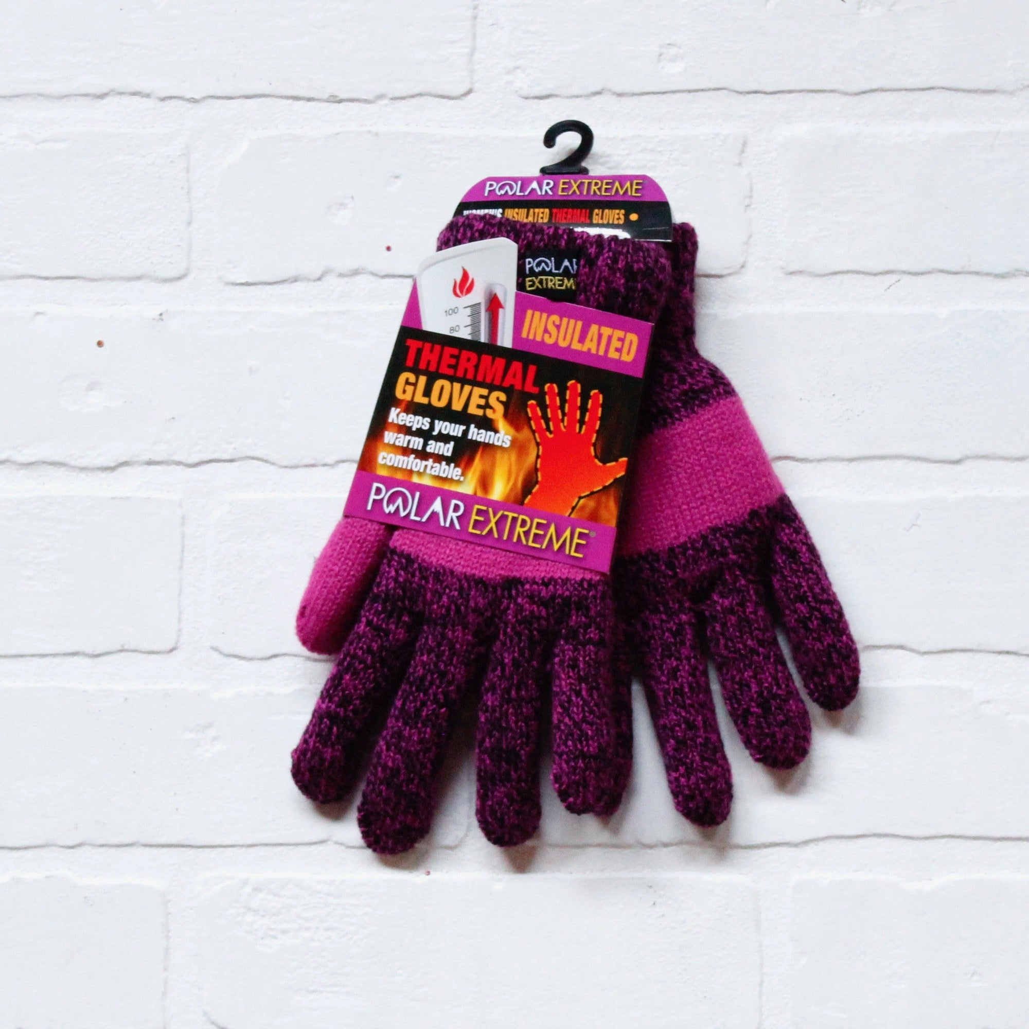 Polar Extreme Women's Marl Knit Gloves
