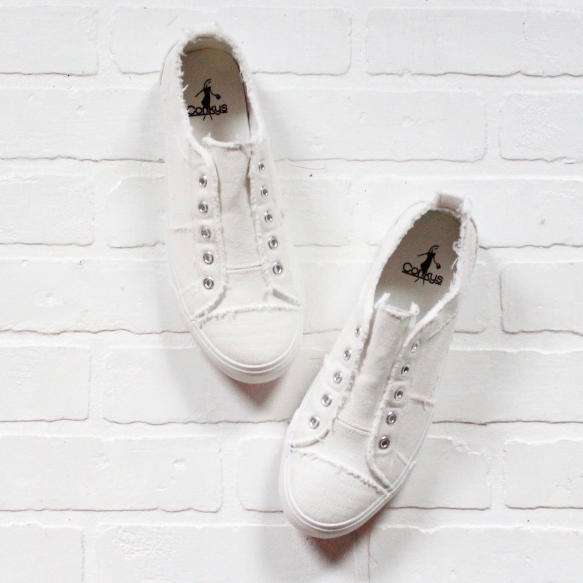Babalu White Sneakers