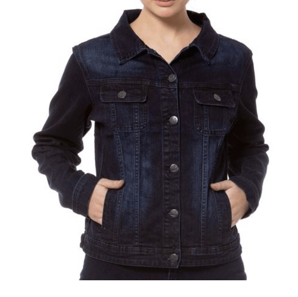 Gabriella Denim Jacket Blue/Black
