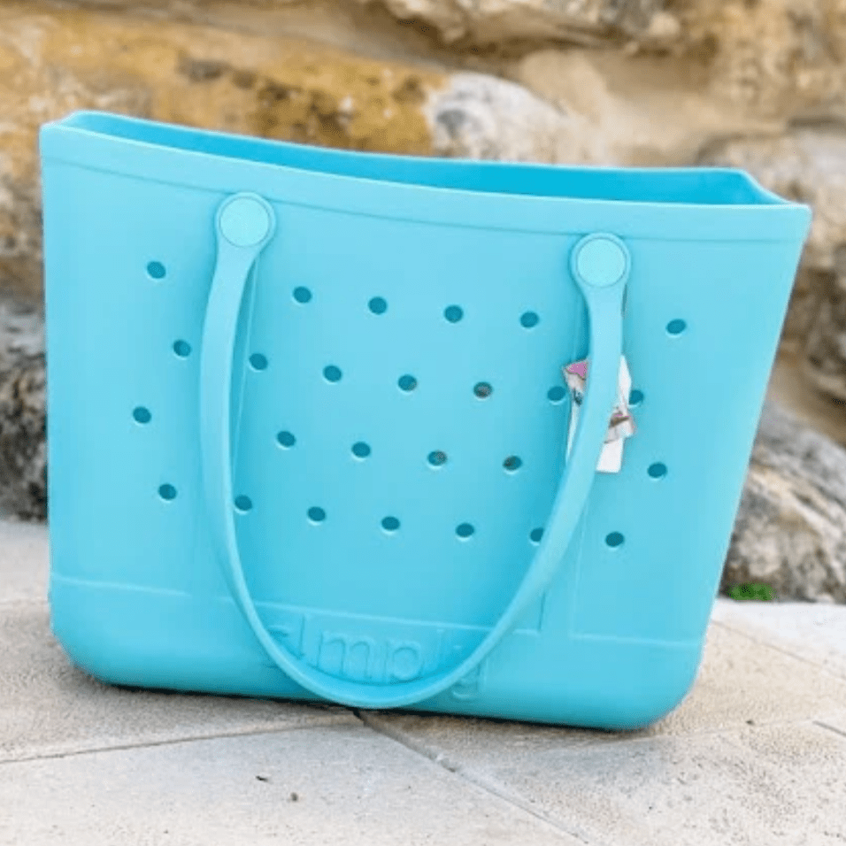 Simply Southern Large Solid Waterproof Tote