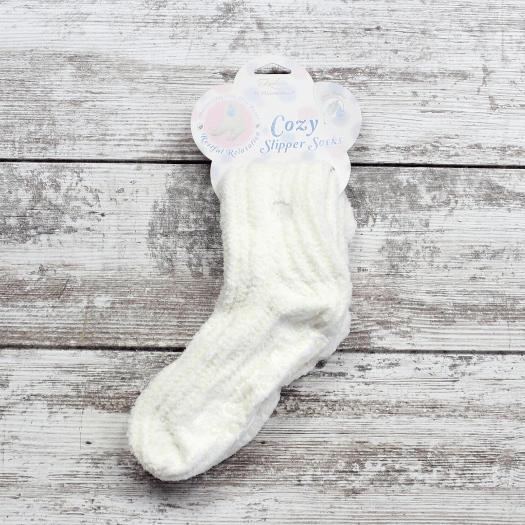 Cozy Shea Butter Slipper Sock