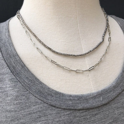 Delicate Chain Layer Necklace