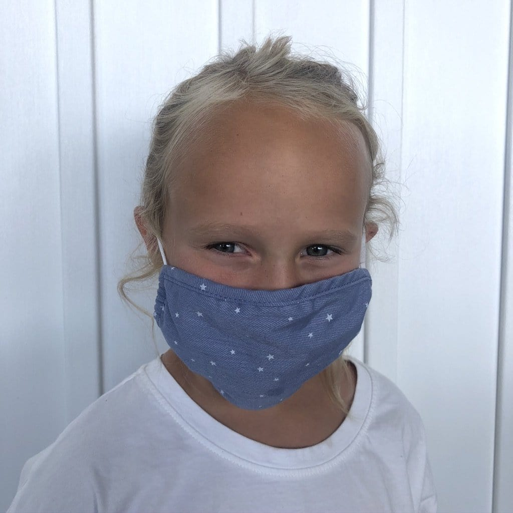 Kids Stars Face Covering