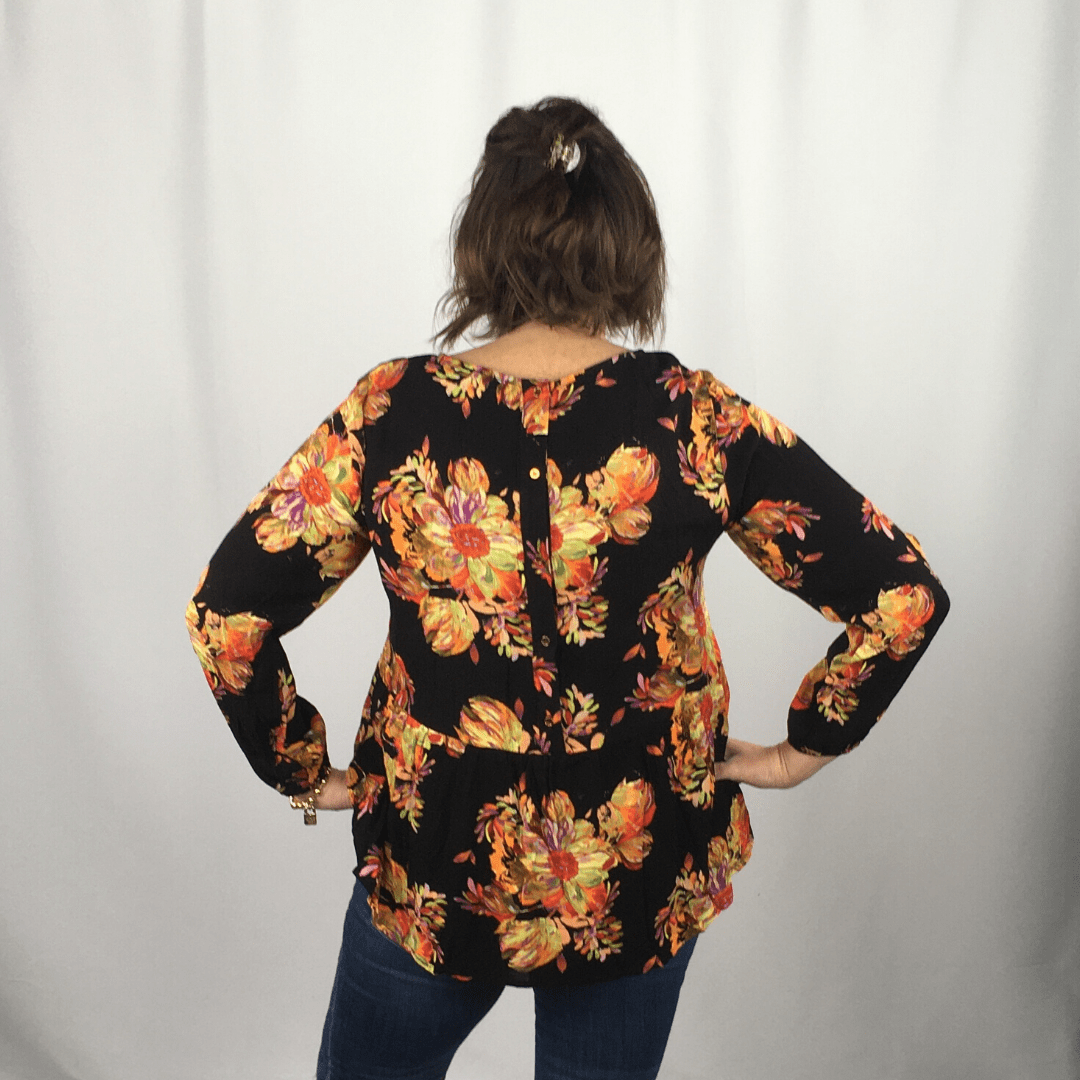 Floral Party Top
