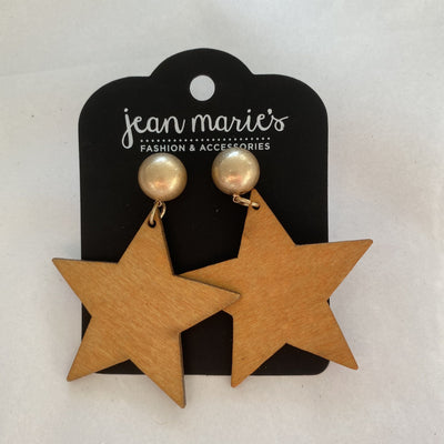 Natural Star Earring