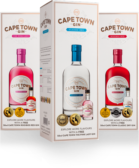 Cape Town Gin Co. gin collection