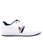 Tenis casual para caballero color blanco US-HSHOES-48-033