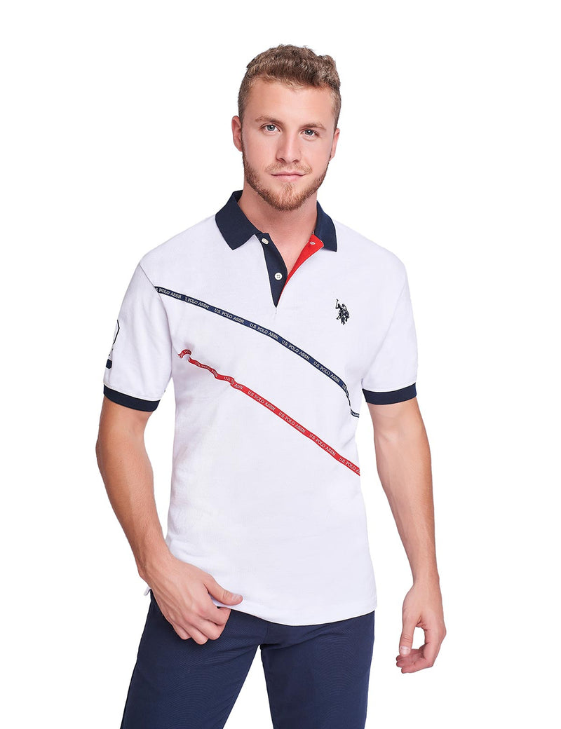 Polo para Caballero Color Blanco USLPM-47-8089
