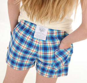 FARLEY Girls check PJ short for ages 10-16 years