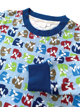Load image into Gallery viewer, Fox Print Slim Fit Pyjamas