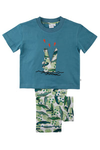 Fishing Crocodile Boys Pyjama set for ages 1-5 years