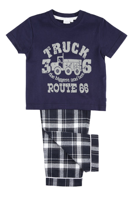 Big Truck Route 66 Boys Pyjamas - MV 1295
