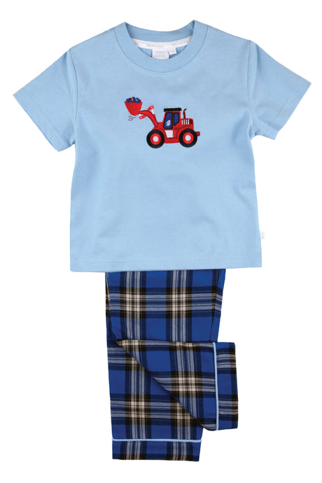 Big Red Digger Boys Pyjamas