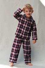 Load image into Gallery viewer, Traditional Pyjamas for Boys in classic check fabric for ages 1-10 years