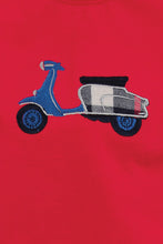 Load image into Gallery viewer, Navy Check Moped bike Boys Pyjamas - MV 1320